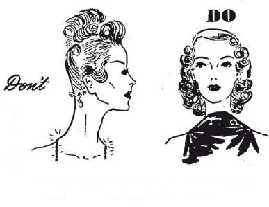 Strange What Vintage Hairstyles To Choose For Short Neck And Long Neck Short Hairstyles Gunalazisus